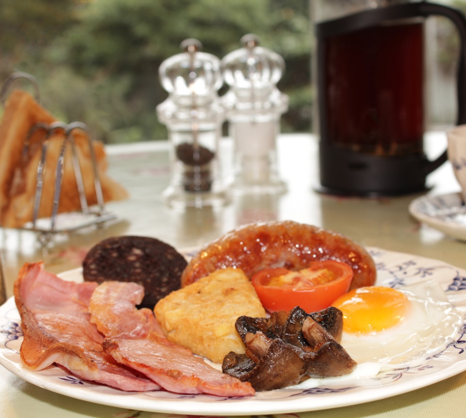Penrose B&B breakfast