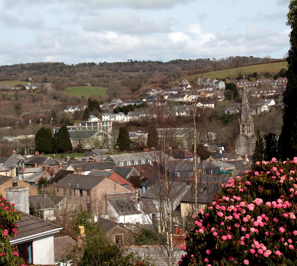 View of Lostwithiel